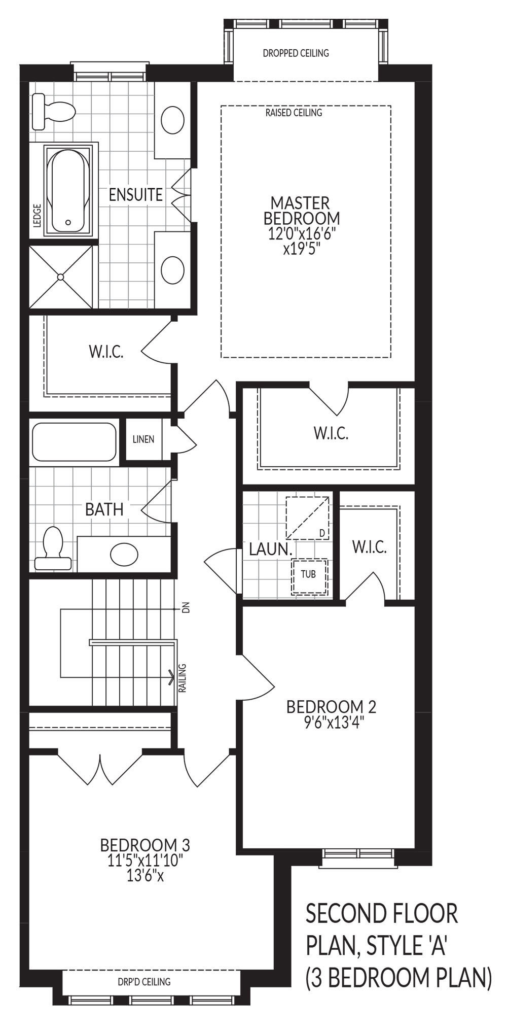 Second Floor Style A (3 Bedroom)